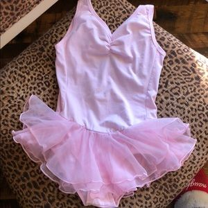 Other - Skirted Ballet Leo with Heart Cutout Back